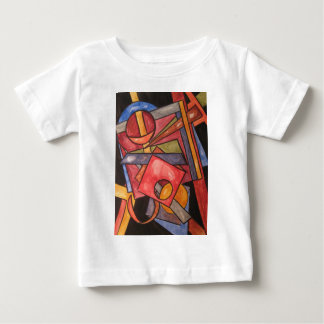 Imperfect Shapes-Abstract Art Geometric Baby T-Shirt