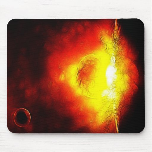 Imperfect Sun Mouse Pad