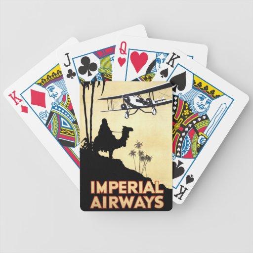 Imperial Airways Baraja Cartas De Poker