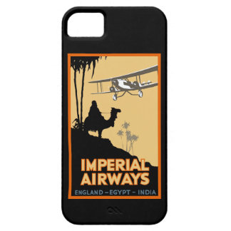 Imperial Airways ~ England - Egypt - India iPhone 5 Cover