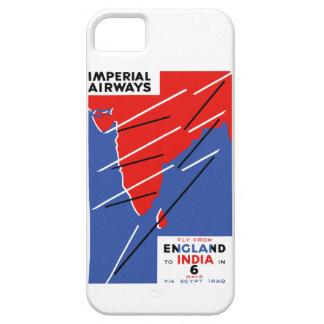 Imperial Airways ~ India iPhone 5 Cases