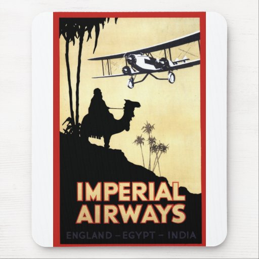 Imperial Airways Mouse Pad