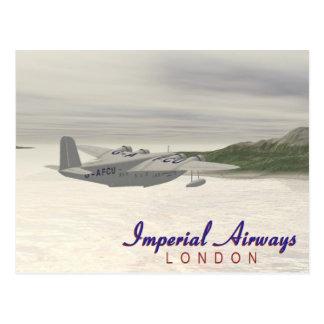Imperial Airways Postcard