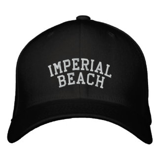 Imperial Beach Embroidered Baseball Hat