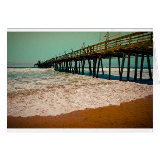 Imperial Beach Pier Card