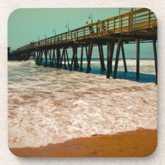 Imperial Beach Pier Drink Coaster