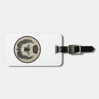 Imperial Bee Luggage Tag