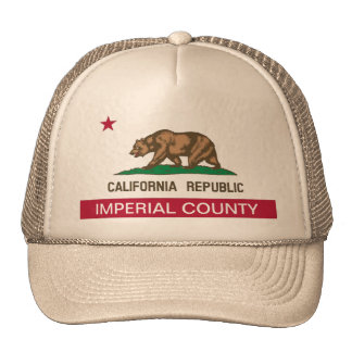 Imperial County california Trucker Hat