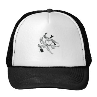 Imperial court music flapping hat