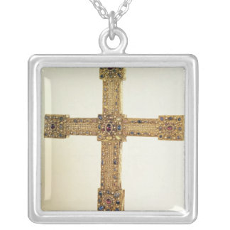 Imperial Cross of the Holy Roman Empire Silver Plated Necklace