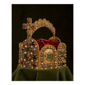 Imperial Crown made for the coronation of Otto Poster