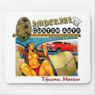 imperial custom auto upholstery mouse pad