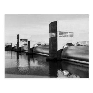 Imperial Dam 1939 Post Card