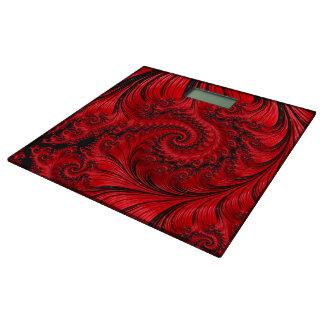 Imperial Dragon Red & Black Bathroom Scale