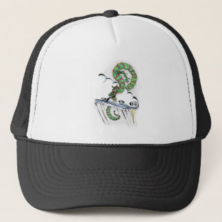 Imperial Dragon Trucker Hat