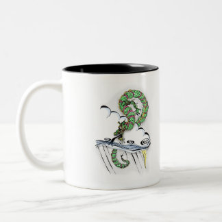 Imperial Dragon Two-Tone Coffee Mug