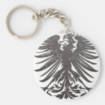 Imperial eagle design element key chain