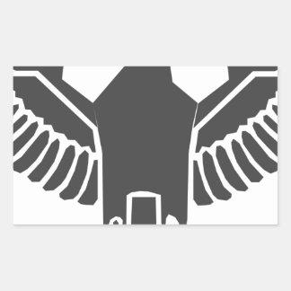 Imperial Eagle Rectangular Sticker