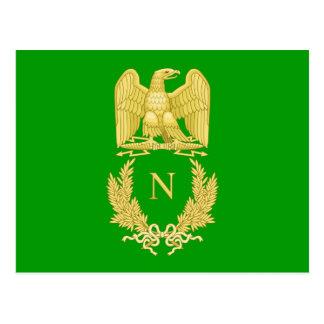 Imperial Emblem of Napoleon I postcard