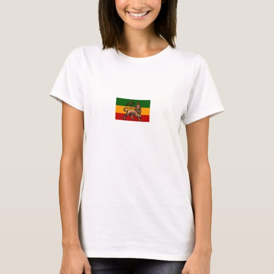 Imperial Ethiopian Lion Of Judah Flag - T-Shirt