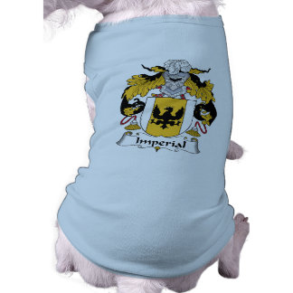 Imperial Family Crest Dog Tee Shirt