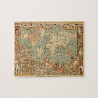 Imperial Federation, map of the world Jigsaw Puzzle