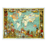 Imperial Federation Map of the World Showi Postcards
