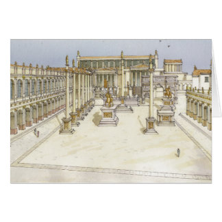 Imperial Forum. Rome Card