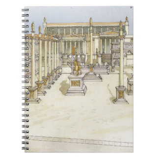 Imperial Forum. Rome Spiral Notebook