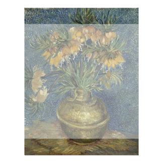Imperial Fritillaries in Copper Vase by Van Gogh Flyer