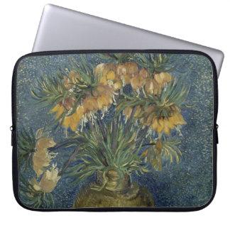 Imperial Fritillaries in Copper Vase by Van Gogh Laptop Sleeve