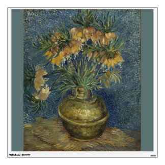 Imperial Fritillaries in Copper Vase by Van Gogh Room Graphics