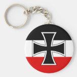 Imperial German Flag Keychain
