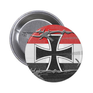 Imperial German Flag Pinback Button