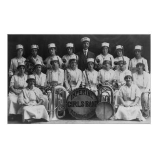 Imperial Girls Band 1915 Poster