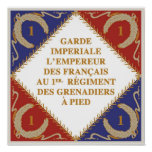Imperial Guard flag Poster