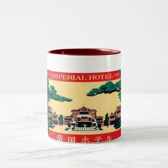 Imperial Hotel Two-Tone Coffee Mug