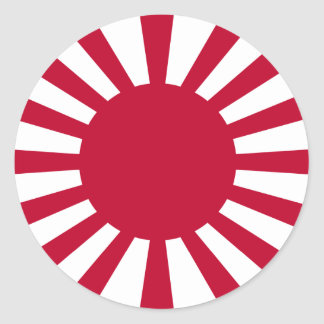Imperial Japanese Army, Japan Classic Round Sticker