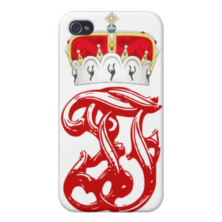 Imperial Monogram of Arch Duke Franz Ferdinand Cover For iPhone 4