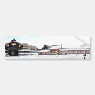 Imperial Palace Gekkamon Bumper Sticker