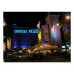 Imperial Palace & Harrahs Las Vegas Poster Print