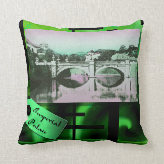 Imperial Palace - Japanese themed pillow