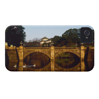 Imperial Palace, Nijubashi Bridge, Tokyo, Japan Case-Mate iPhone 4 Cases