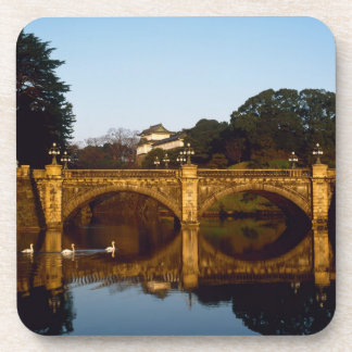 Imperial Palace, Nijubashi Bridge, Tokyo, Japan Coaster
