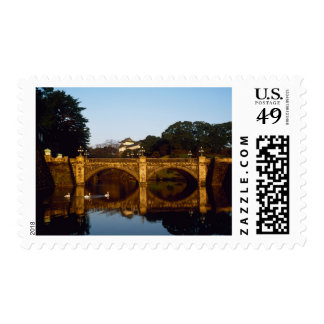 Imperial Palace, Nijubashi Bridge, Tokyo, Japan Postage