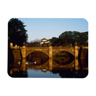 Imperial Palace, Nijubashi Bridge, Tokyo, Japan Rectangular Photo Magnet
