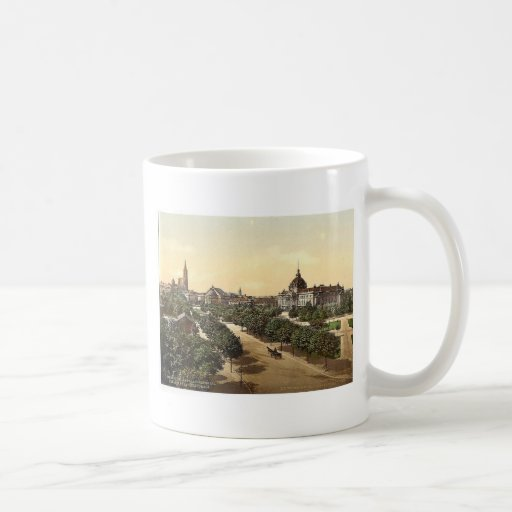 Imperial Palace, theater and cathedral, Alsace Lor Mug