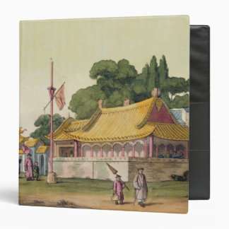 Imperial Palace, Tokyo, plate 54 from 'Le Costume 3 Ring Binder