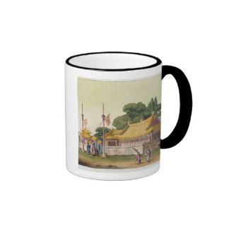 Imperial Palace, Tokyo, plate 54 from 'Le Costume Coffee Mugs