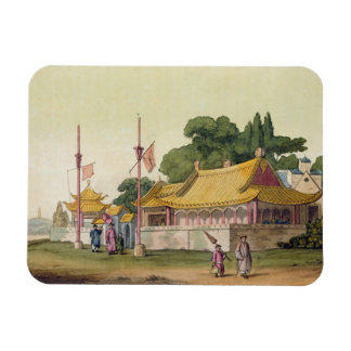 Imperial Palace, Tokyo, plate 54 from 'Le Costume Rectangular Photo Magnet